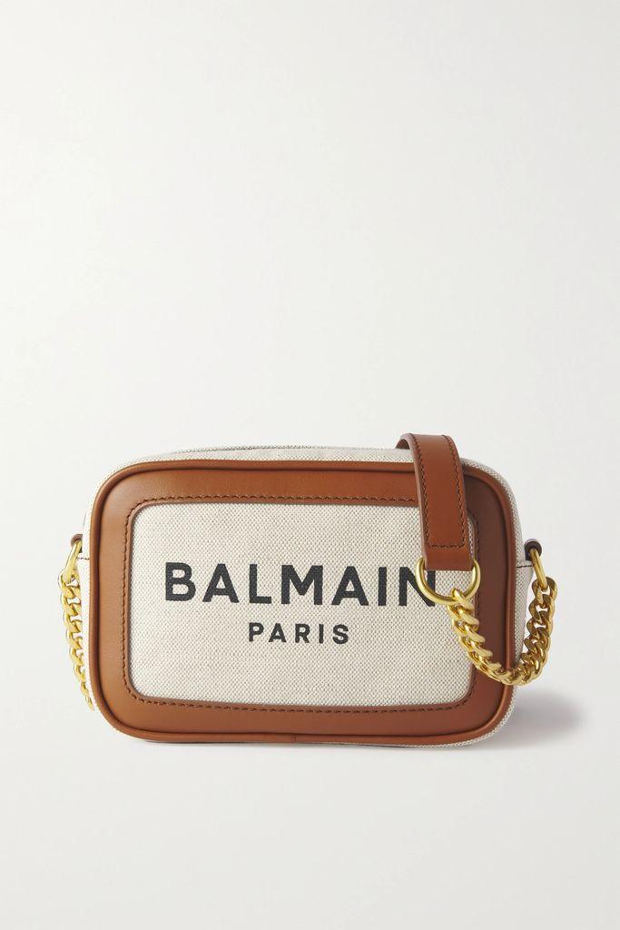 Nanushka - Gisele Belted Vegan Leather Mini Dress - Black
