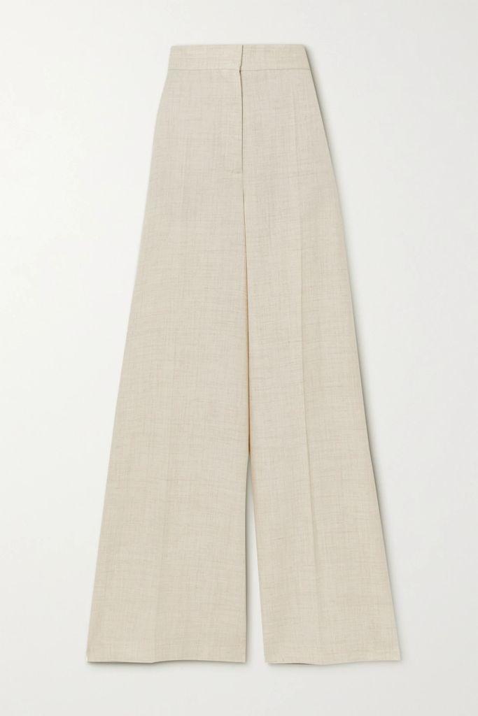 CALVIN KLEIN 205W39NYC - Two-tone Layered Cotton-poplin Shirt - Baby pink