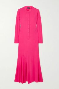 Stella McCartney - Printed Silk Crepe De Chine Shirt - Navy