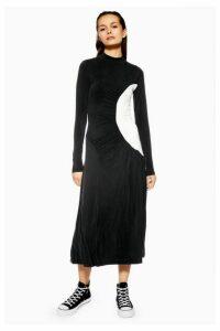 Womens **Cupro Dress By Boutique - Black, Black