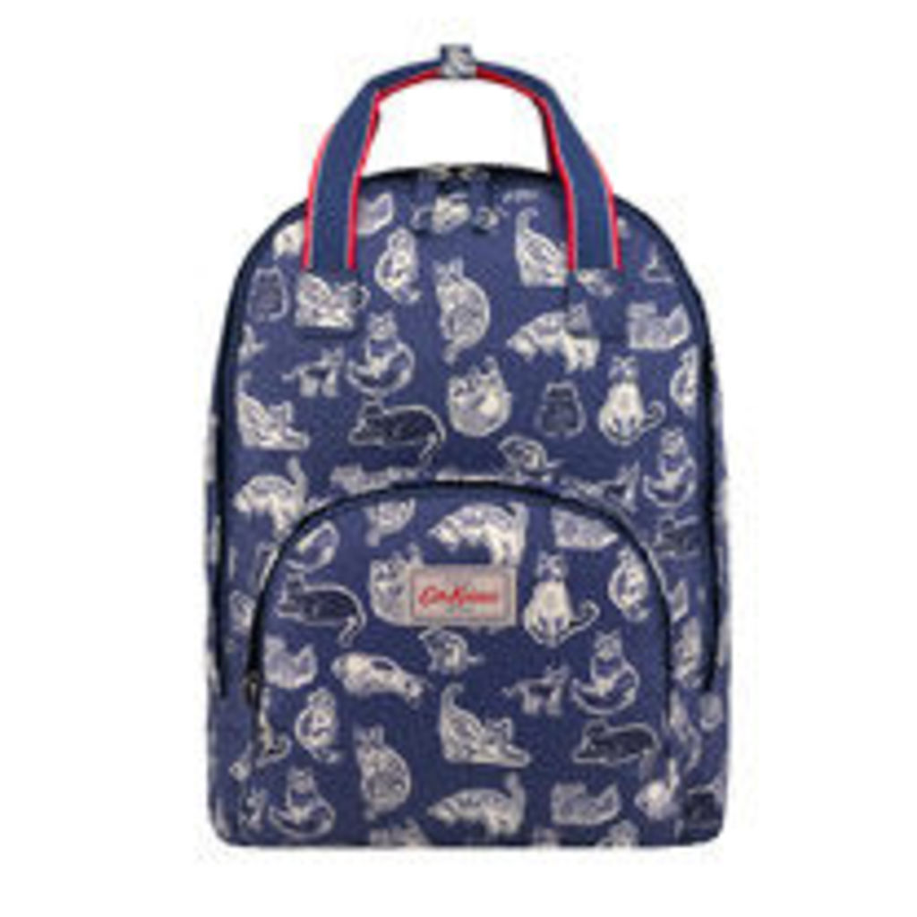 Squiggle Cats Multi Pocket Backpack