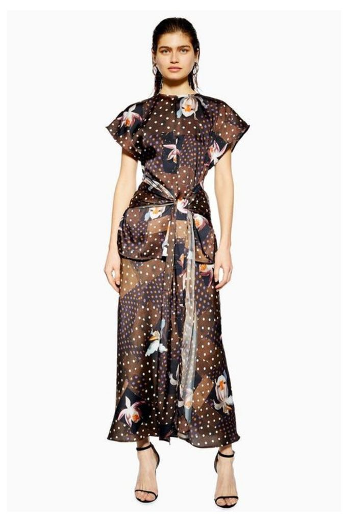 Womens **Orchid Maxi Skirt By Boutique - Chocolate, Chocolate