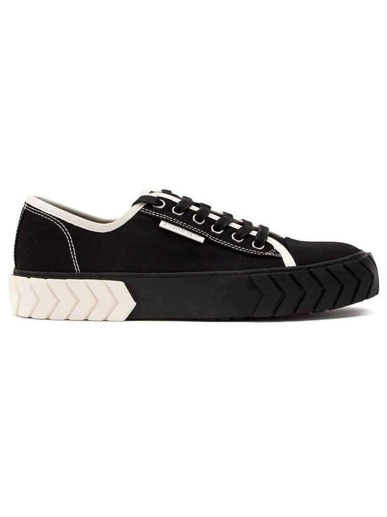 Both low-top sneakers - Black