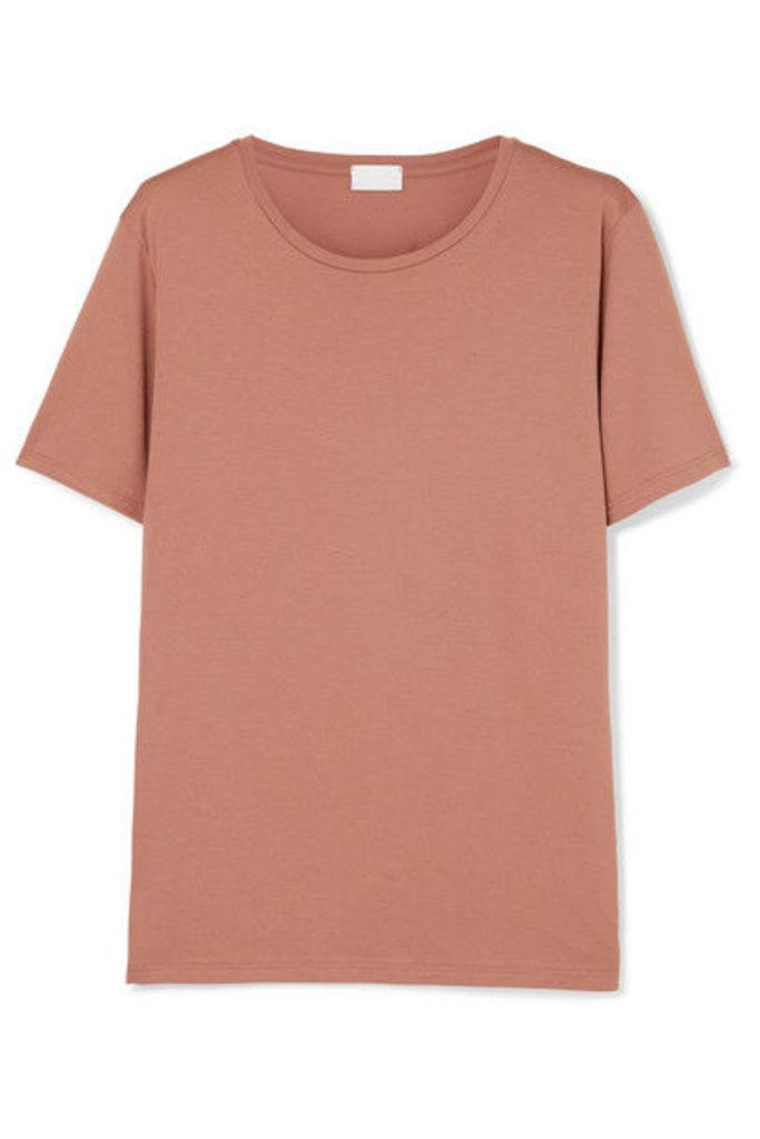 Handvaerk - Pima Cotton-jersey T-shirt - Pink