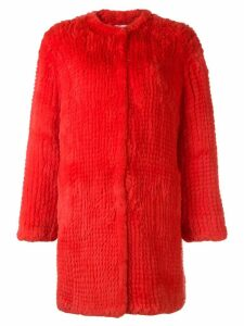 P.A.R.O.S.H. Question coat - Red