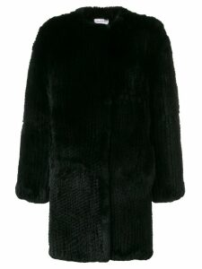 P.A.R.O.S.H. Question coat - Black