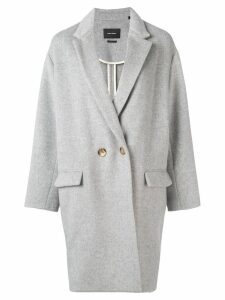 Isabel Marant oversized coat - Grey