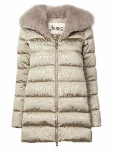 Herno A-Shape 70th Limited Edition coat - Brown