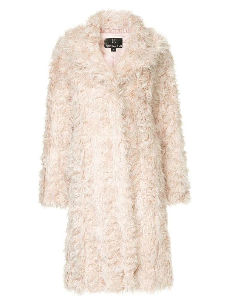 Unreal Fur Esperanza Coat - Pink