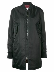 Acne Studios long bomber coat - Black