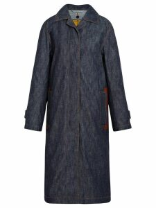 Mackintosh Dark Indigo Denim Coat D-WC008D - Blue