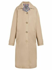 Mackintosh Beige Cotton & Wool Reversible Coat LM-082 - NEUTRALS