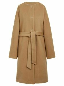 Mackintosh Beige Wool & Cashmere Belted Coat LM-085F - Neutrals