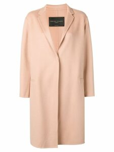 Fabiana Filippi single breasted cashmere coat - Neutrals