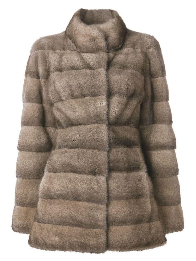 Liska Valencia short coat - Brown
