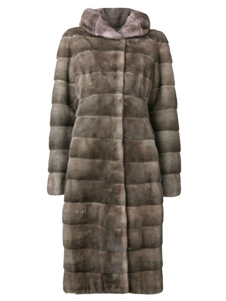 Liska Valencia long coat - Grey