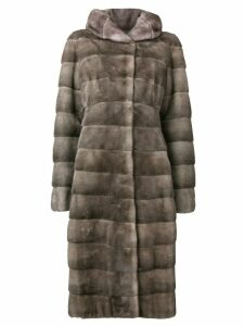 Liska Valencia long coat - Grey