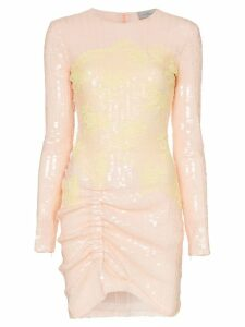 Preen By Thornton Bregazzi Michelle sequinned lace mini dress -