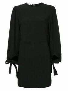Stella McCartney tie-cuff dress - Black