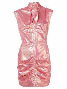 MSGM glitter mini dress - Pink