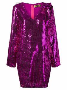 MSGM sequinned dress - Purple