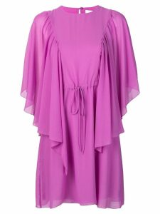See By Chloé flared sleeves dress - Pink