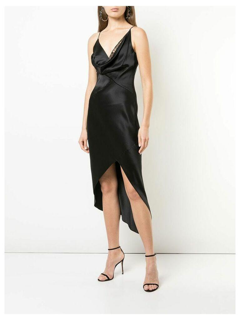 Cushnie cowl neck dress - Black