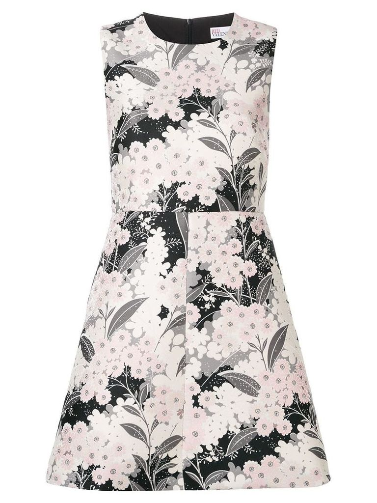 Red Valentino floral-print dress - Pink