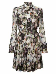 Adam Lippes floral mini dress - Multicolour