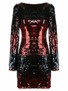 Talbot Runhof Lorena sequin mini dress - Black