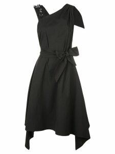 Josie Natori belted dress - Black