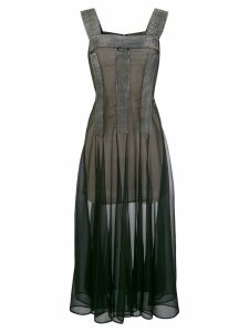 Christopher Kane crystal mesh dress - Black