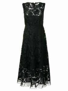 Red Valentino lace midi dress - Black