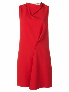 Victoria Beckham side drape tunic - Red