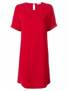P.A.R.O.S.H. shortsleeved shift dress - Red
