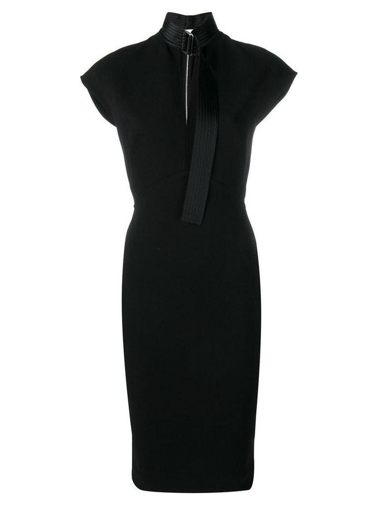 Victoria Beckham slash front dress - Black