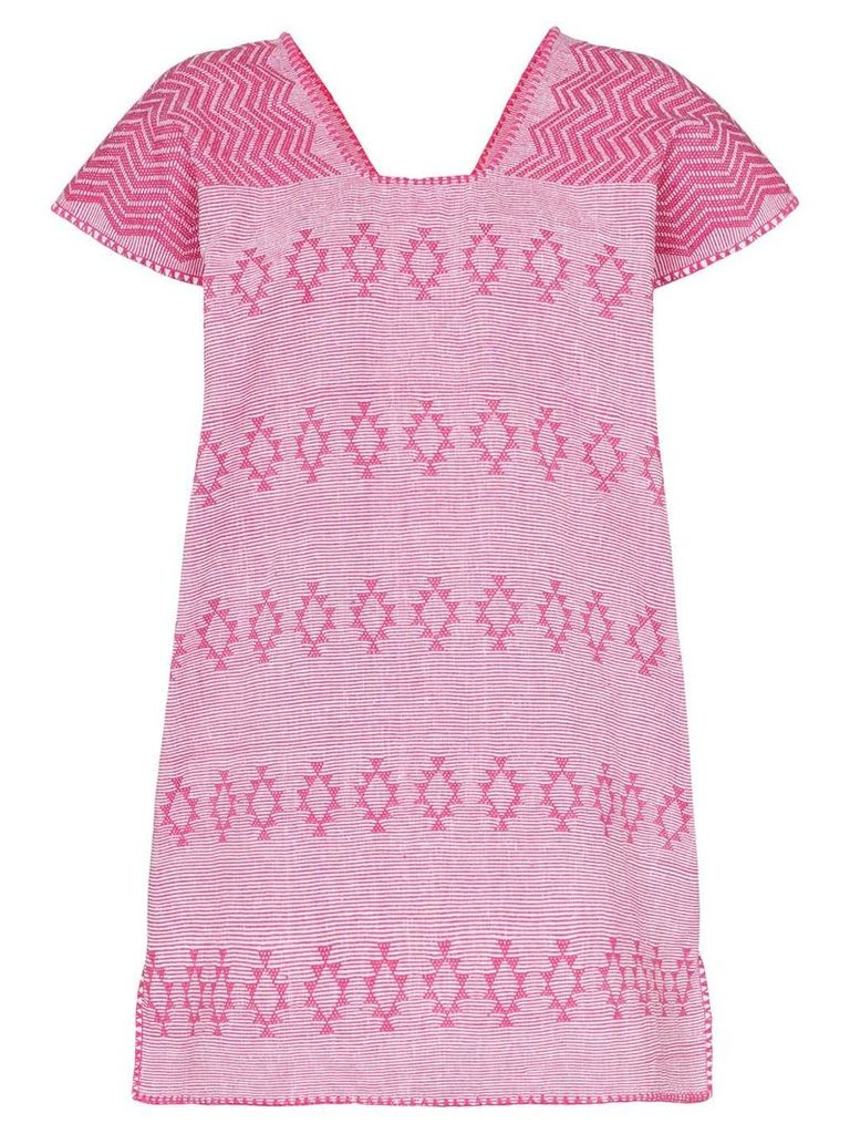 Pippa Holt cotton kaftan dress - Pink