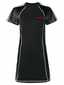 Adidas Originals By Alexander Wang fitted short dress - Black