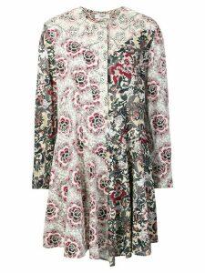Isabel Marant Étoile Lissande contrast floral-print dress - White
