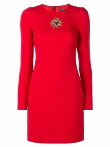 Dolce & Gabbana embellished sheath dress - Red
