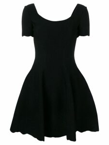 Alexander McQueen fit-and-flare dress - Black