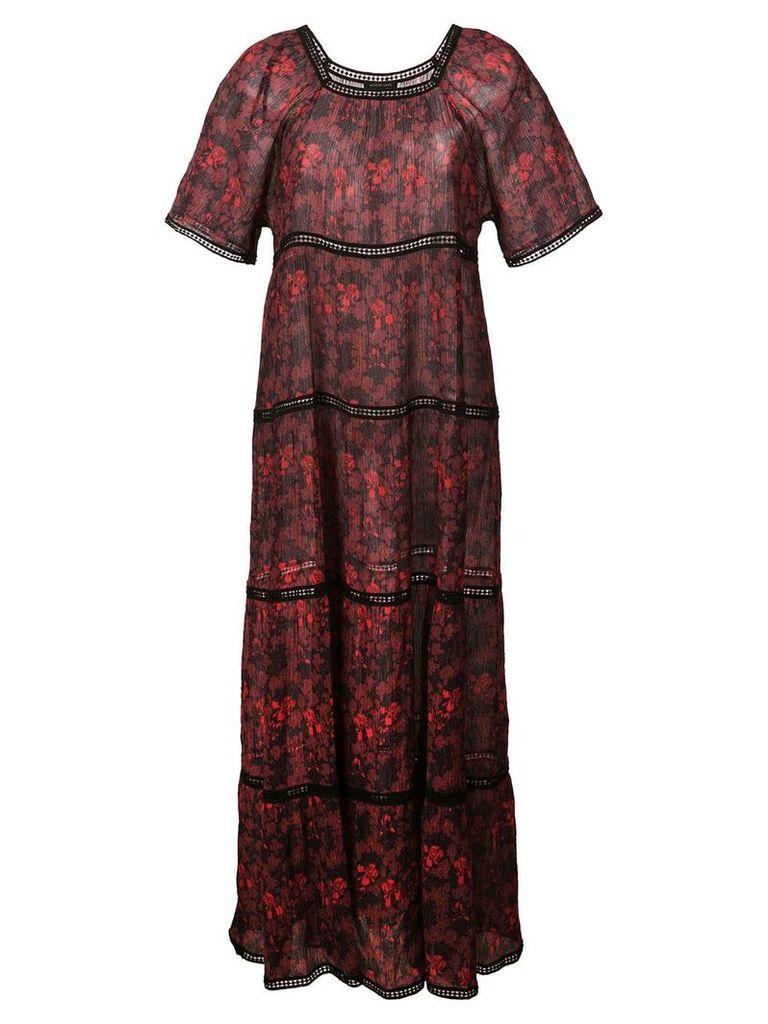 Morgan Lane Georgina dress - Red