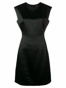 Theory fitted midi dress - Black