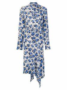 Christian Wijnants Domi floral print dress - Blue