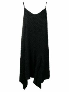 Christian Wijnants Dista asymmetric hem dress - Black