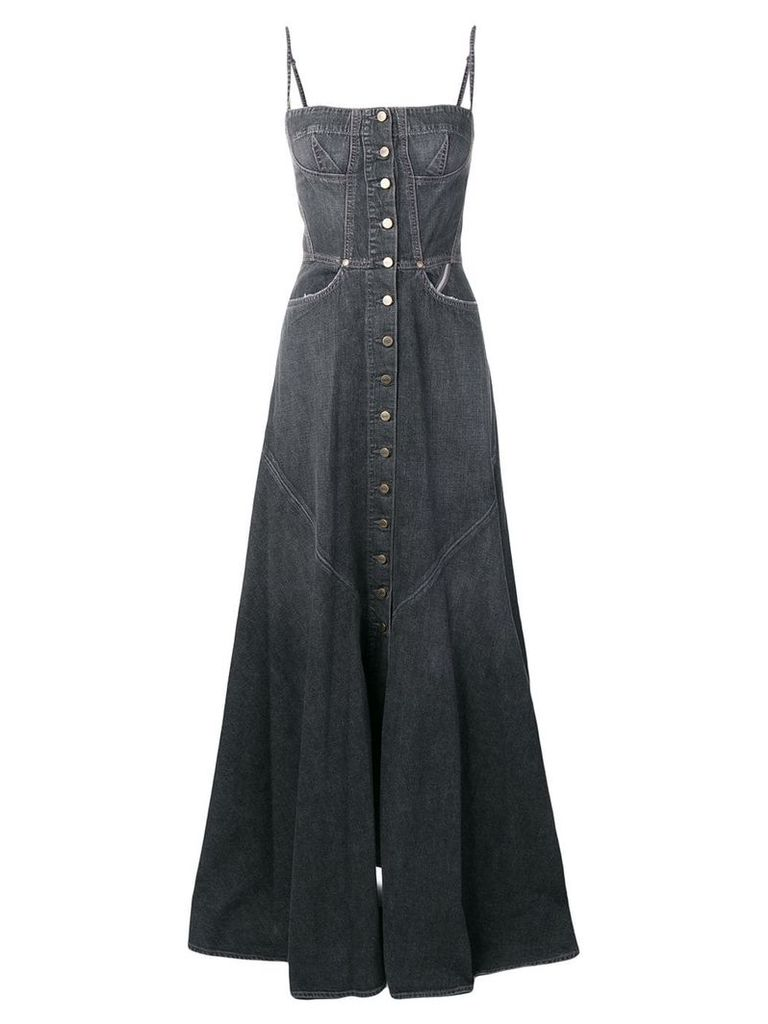 Jean Atelier Agnes floor length dress - Grey