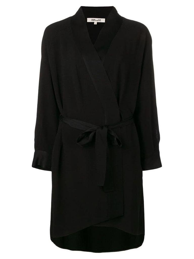 Dvf Diane Von Furstenberg Deon woven dress - Black