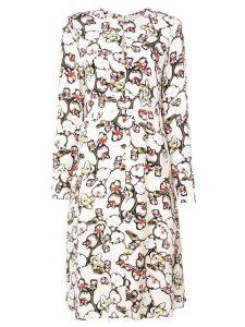Dorothee Schumacher floral meadow print dress - Neutrals