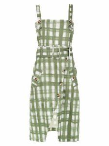 Olympiah printed Petri dress - Green