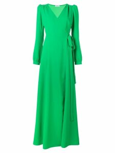 P.A.R.O.S.H. maxi wrap dress - Green